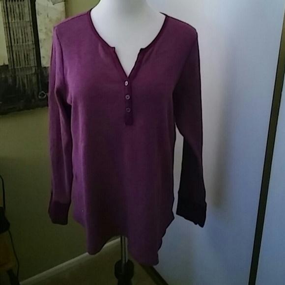 Faded Glory Tops - Purple long sleeve XXL (20)